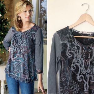 Soft Surroundings | Helena Embroidered Tunic